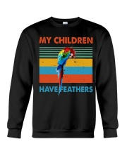 My children have feathers Crewneck Sweatshirt thumbnail
