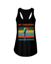 My children have feathers Ladies Flowy Tank thumbnail