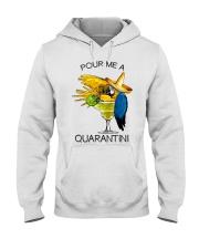 Pour me a quarantini Hooded Sweatshirt thumbnail