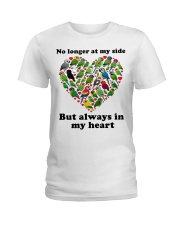 Parrot in my heart Ladies T-Shirt front