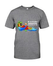 Quarantine and chill Classic T-Shirt tile