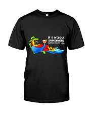 Quarantine and chill Classic T-Shirt front