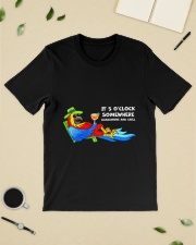Quarantine and chill Classic T-Shirt lifestyle-mens-crewneck-front-19