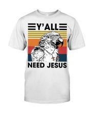 Y'all need jesus Premium Fit Mens Tee thumbnail