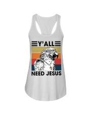 Y'all need jesus Ladies Flowy Tank thumbnail
