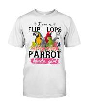 Parrot girl Classic T-Shirt thumbnail
