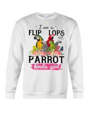 Parrot girl Crewneck Sweatshirt thumbnail