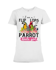 Parrot girl Premium Fit Ladies Tee thumbnail