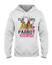 Parrot girl Hooded Sweatshirt thumbnail