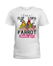 Parrot girl Ladies T-Shirt front