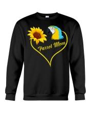 Parrot mom Crewneck Sweatshirt thumbnail