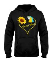 Parrot mom Hooded Sweatshirt thumbnail