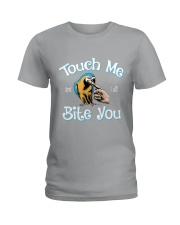 I will bite you Ladies T-Shirt thumbnail