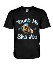 I will bite you V-Neck T-Shirt thumbnail
