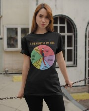Pie chart of my life Classic T-Shirt apparel-classic-tshirt-lifestyle-19