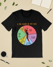 Pie chart of my life Classic T-Shirt lifestyle-mens-crewneck-front-19