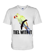 Tiel with it V-Neck T-Shirt thumbnail