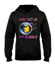 Stay out of my bubble Hooded Sweatshirt thumbnail