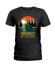 Socially distant Ladies T-Shirt thumbnail