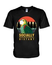 Socially distant V-Neck T-Shirt thumbnail