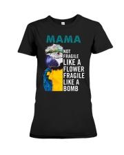 Mama Premium Fit Ladies Tee thumbnail