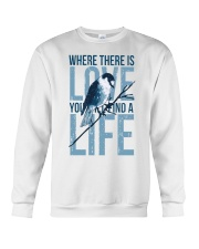Where there is love you will find a life Crewneck Sweatshirt thumbnail