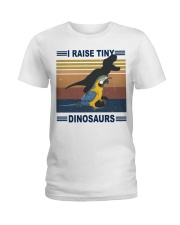 Tiny dinosaurs Ladies T-Shirt front