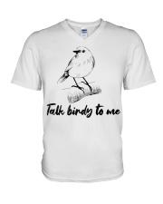 Talk birdy to me V-Neck T-Shirt thumbnail
