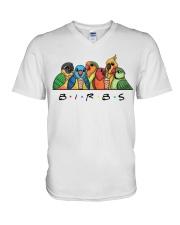 Birds V-Neck T-Shirt thumbnail