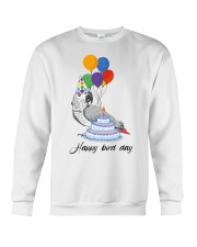 Happy bird day Crewneck Sweatshirt thumbnail