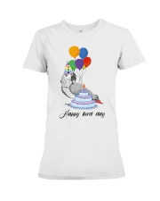 Happy bird day Premium Fit Ladies Tee thumbnail