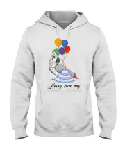 Happy bird day Hooded Sweatshirt thumbnail