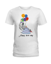 Happy bird day Ladies T-Shirt front