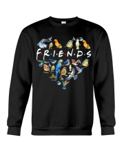 Bird Friends Crewneck Sweatshirt thumbnail