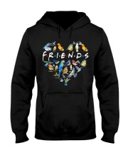Bird Friends Hooded Sweatshirt thumbnail