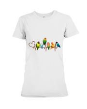 Parrot heart beat Premium Fit Ladies Tee thumbnail