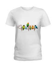 Parrot heart beat Ladies T-Shirt front