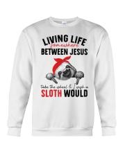 Sloth would Crewneck Sweatshirt thumbnail