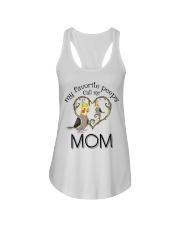 Parrot mom Ladies Flowy Tank thumbnail