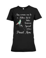 Parrot mom Premium Fit Ladies Tee thumbnail