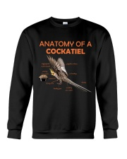 Anatomy of Cockatiel Crewneck Sweatshirt thumbnail