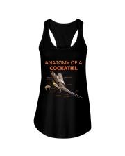 Anatomy of Cockatiel Ladies Flowy Tank thumbnail