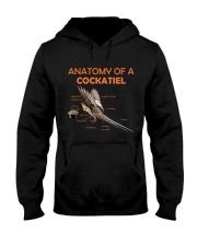 Anatomy of Cockatiel Hooded Sweatshirt thumbnail