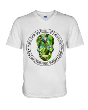 Parrot talents V-Neck T-Shirt thumbnail