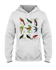Birds Hooded Sweatshirt thumbnail
