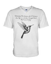 Bird lovers V-Neck T-Shirt thumbnail
