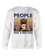 People not a big fan Crewneck Sweatshirt thumbnail