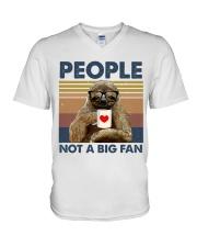 People not a big fan V-Neck T-Shirt thumbnail