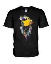 Dream catcher parrot V-Neck T-Shirt thumbnail