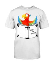 Silence is golden Premium Fit Mens Tee thumbnail